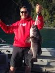 Joy of a Black Bass catch!
